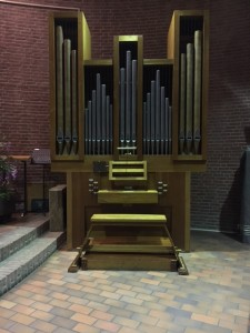 Nieuwe orgel DDS
