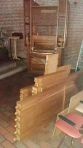 oude orgel